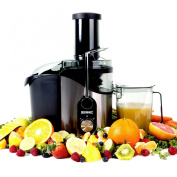 Duronic JE8 - 800W Powerful Whole Fruit Centrifugal Power Juicer with Jug - 2 Years Free Warranty ...