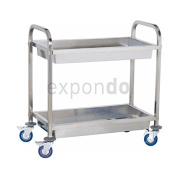 Royal Catering RCGW-2 Serving Tray with 2 Levels Stainless Steel 320 kg Maximum