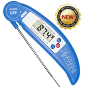 Food Thermometer, Amir® Digital Instant Read Candy / Meat Thermometer With Probe For Kitchen Cooking, BBQ, Poultry, Grill --- [Foldable, Fast & Auto On/Off]
