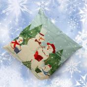 Malloom® Christmas Snowman Sofa Bed Home Decoration Festival Pillow Case Cushion Cover