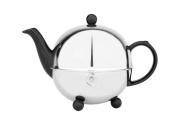 Bredemeijer 0.9 L Ceramics/ Stainless Steel Teapot Cosy, Black