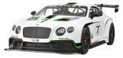 Global Gizmos 52060 1:14 Scale Bentley Continental GT3 Remote Control Car