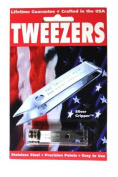 Sliver Gripper Precision Tweezers w/ Reclosable Tube 0600 by Sliver Gripper