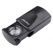 30x LED Lighted Magnifier Jewellers Jewellery Loupe Loop Glass New