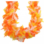 Chandelle Feather Boa 180cm -Candy Corn