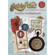 Debbi Moore Shabby Chic Card Kit-Time Flies