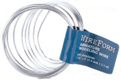 AMACO Wireform Armature Modelling Wire-0.2cm Diameter by, 2.4m Coiled Soft Aluminium by AMACO