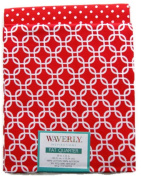 Waverly Inspirations Fat Quarters Bundle - Red and White Pattern Theme