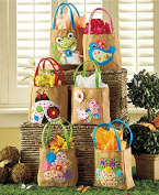 Sets of 6 Embellished Spring Treat Bags