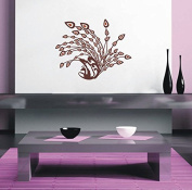 Pop Decors PT-0165-Vc Beautiful Wall Decal, Cute Animals in The Jungle