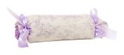 Glenna Jean Penelope Roll Pillow, Lavender/Mint/White
