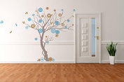 Pop Decors PT-0119VC Beautiful Wall Decals, Music Tree, 200cm
