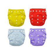 Baby Comfortable Reusable Cloth Nappies Infant Adjustable Washable Nappy Cover