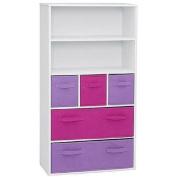 4D Concepts Bookcase, White