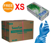 SUNNYCARE #8800 Nitrile Disposable Gloves Powder Free Size