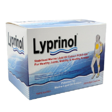 Pharma Lyprinol® Pcso-524® 200 Capsules New Zealand Green Lipped Mussel Extract Oil Joint Health Support & Mobility