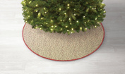 Jaclyn Smith Christmas Tidings 130cm Branch & Berry Tree Skirt