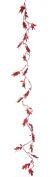 Fantastic Craft Ebony Myrtle Garland, 1.5m, Red
