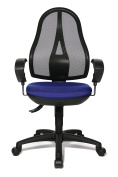 Topstar OP20UG26E Open Point SY Design Swivel Chair with Breathable Mesh Cover - Multicoloured