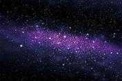 Galaxy photo wallpaper - space mural - Starry sky - XXL wall decoration nursery 340cm x 240cm