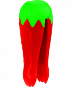 Casabella Strawberry Huller Kitchen Tool, Red and Green