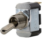 Paneltronics SPST OFF/(ON) Metal Bat Toggle Switch - Momentary Configuration by Paneltronics