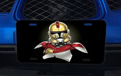 King Leonidas Stormtrooper Collab Art Aluminium Licence Plate for Car Truck Vehicles
