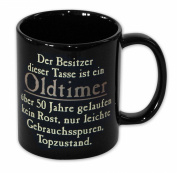 Oldtimer Tasse 50 Jahre gelaufen