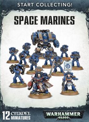 Start Collecting! Space Marines Warhammer 40,000