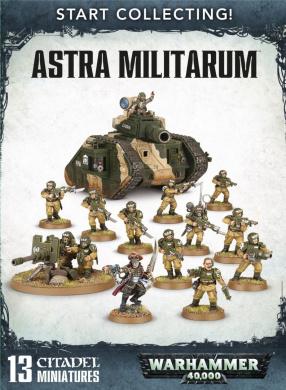 Start Collecting! Astra Militarum Warhammer 40,000