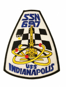 USS Indianapolis SSN-697 Patch