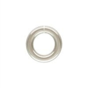 Sterling Silver 20.0 Gauge 4.0mm Open Jump Ring. Sold as - 50 Pieces Per Pack
