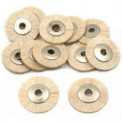 12 Soft Hair Wheel Brush Jewellers Polishing fits For For For For For For For For Dremel