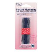 Hemline H784.N | Navy Hemming Tape | 20mm x 2m