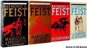 Raymond E. Feist THE RIFTWAR SAGA 4 Book Bundle : Magician