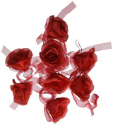 Red Rose Garland - Party Decorations & Garland