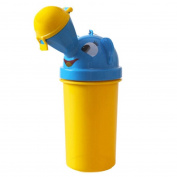 Novelty Portable Baby Child Potty Urinal Toddler Potty Camping Training Car Travel Toilet for Boys Yellow