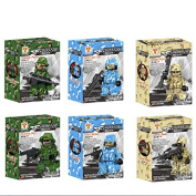 Changyin-UK 6 Pcs Anti-Explosion Doll Puzzle Toy Assembling Toys Kids Education Toy
