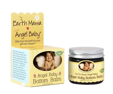 Pack of 6 x Earth Mama Angel Baby Angel Baby Bottom Balm - 60ml