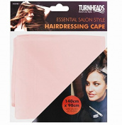 PINK BARBERS HAIR CUT/CUTTING HAIRDRESSING HAIRDRESSERS UNISEX SALON BARBER GOWN CAPE