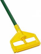 Rubbermaid Commercial FGH14600GR00 Invader Side-Gate Wet Mop, Fibreglass Handle, 140cm