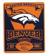 NFL Cleveland Browns Marque New Logo Printed Fleece Throw, 130cm x 150cm , Brown