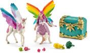 Bayala Schleich Rainbow Elf Lis Toy With Pegasus Unicorn Foal