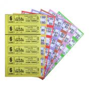 Bingo Tickets 750 6 Page 6 To View Bingo Books