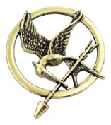 Hunger Games Mockingjay Pin Brooch Movie Inspired Badge Catching Fire Cosplay Fancy Dress Must Have