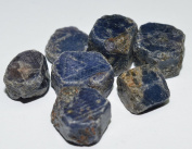 Blue Sapphire from Kenya rough gemstone crystals 117 carat