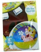 Nick Jr. SpongeBob Squarepants Inflatable Beach Ball 41cm (Styles Vary) by Nick Jr.