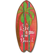 Life Is Good - Large Surfboard