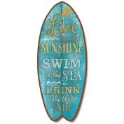 Live Swim Drink - Large Surfboard