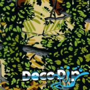 Hydrographics Film Kit - Hydro Dipping - Deco Dip Kit - Bushlan Green Camo - RC-400 - Water Transfer Printing